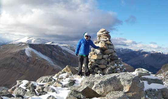 Me on the summit of Marble Mountain