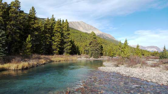 Another view of Brazeau River
