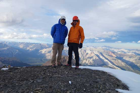 Raff and I on the summit.
