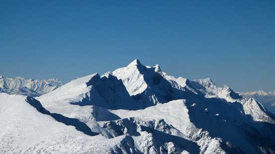 """Bigger peaks in the northern Monashees. I think it's near """"Mt. Charlotte"""""""