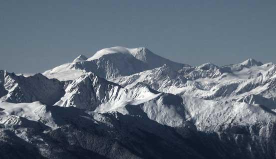 Mt. Sir Wilfred Laurier, highest summit in the Cariboos