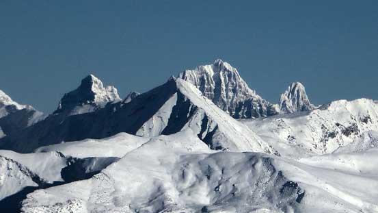 Mt. Geikie, highest peak in the Ramparts