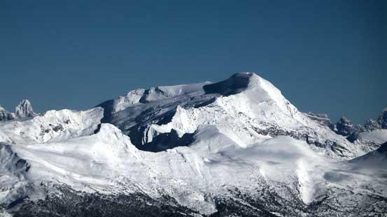 """""""Jenette Peak"""" - highest summit in the Selwyn Range"""
