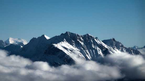 Mt. Blackman just across Kinbasket Lake