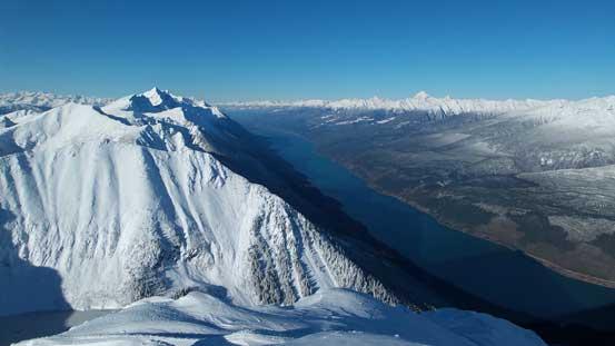 Kinbasket Lake and Rocky Mountain Trench