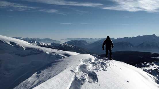 Eric on the summit of Keystone Peak