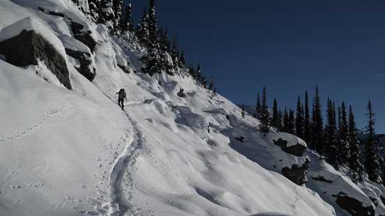 Descending some complex terrain