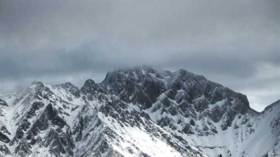 I think this is the unofficially named Sundance Peak.