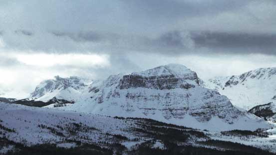 Looking towards Citadel Peak