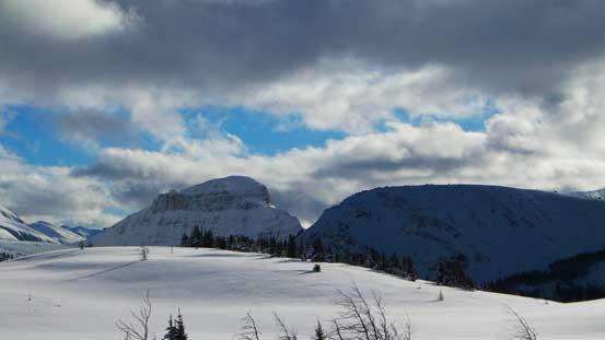 Citadel Peak in the distance