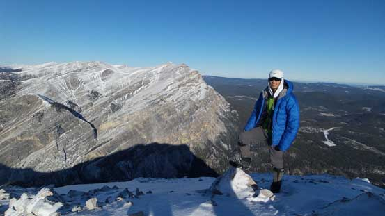Me on the summit of Maze Peak