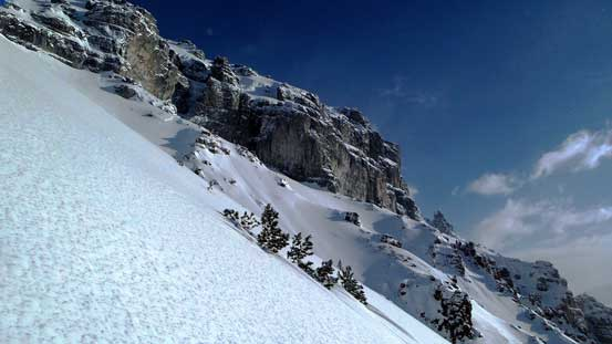 Big terrain... Stable snowpack is a must!