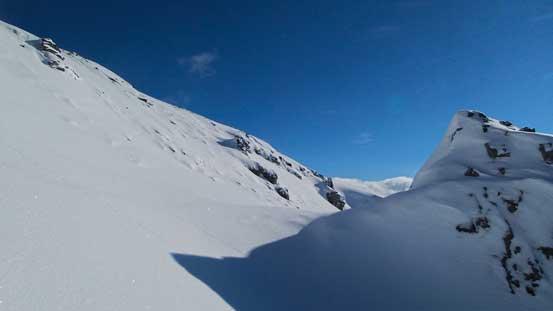 The last bit to the summit plateau.