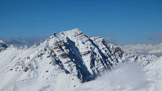 Mt. Bell - looks like it's also doable in winter with stable snowpack