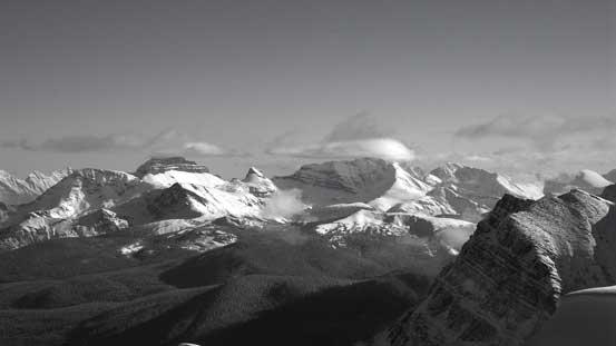 Pilot Mountain and Mt. Brett on Massive Range