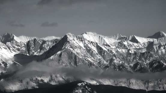 Mt. Ishbel - a sexy-looking peak but a tedious scramble