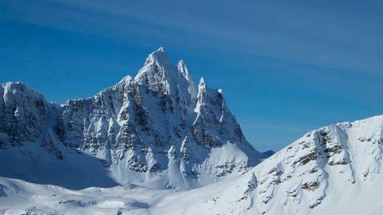 The summit of Salient Mountain