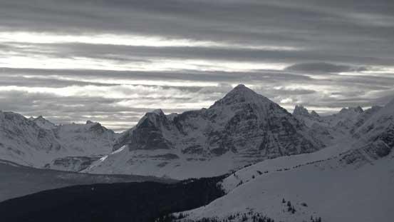 Mt. Fitzwilliam in black-and-white
