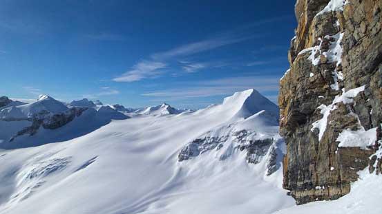 At the base, looking towards Mt. Baker