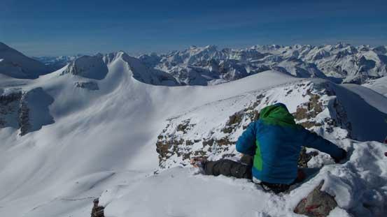Vern on the summit