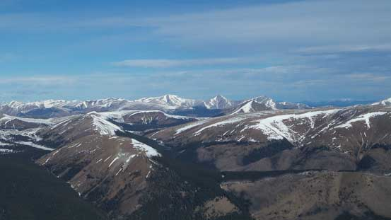 Some easy-looking peaks towards North