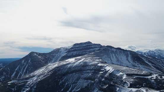 Barrier Mountain towards south