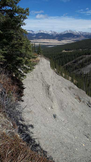A massive erosion feature.