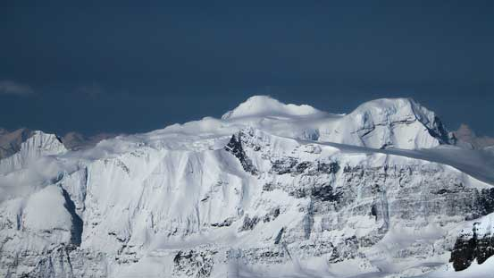 Mt. Mummery is massive.
