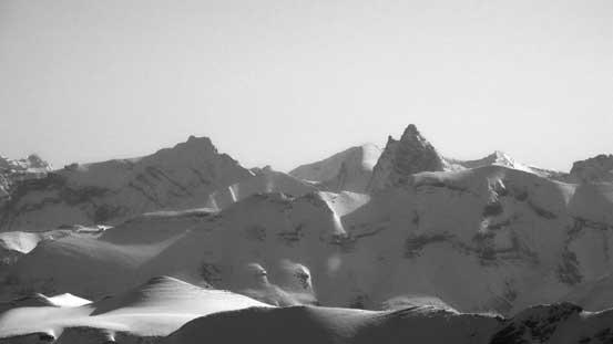 Recondite Peak looks wild