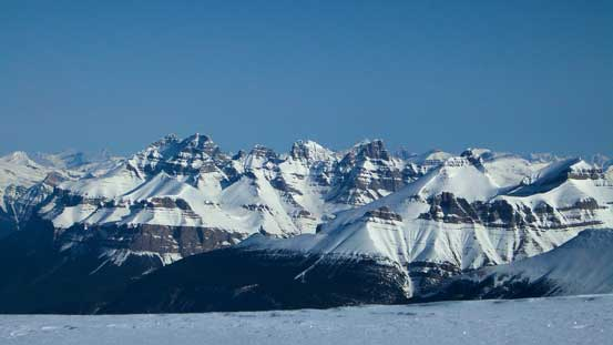 Mt. Murchison and Murchison Towers.