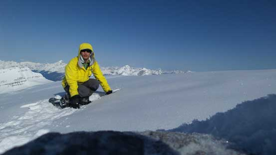 Me on the summit of Mt. Patterson