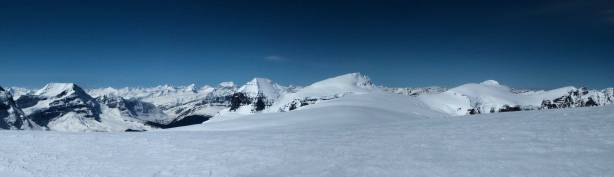 Panorama view from the summit of my 20th 11,000er. Click to view large size.