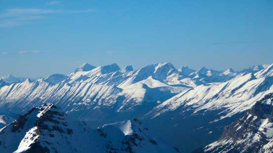 Charlton/Unwin and Mary Vaux are giants in Maligne area