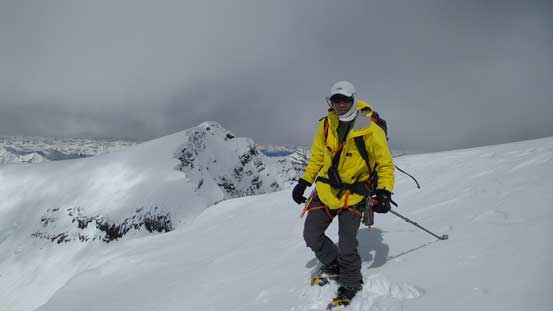 Me on the summit of McDonell Peak