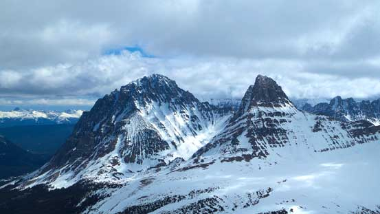 Throne Mountain and Blackhorn Peak