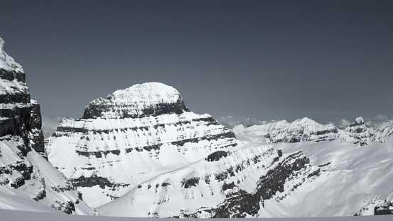 Mt. Alberta in its glory!