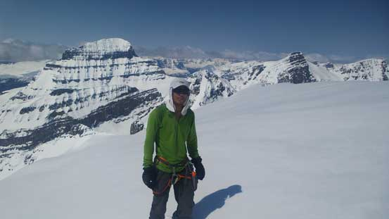 Me on the summit of Mt. Cromwell