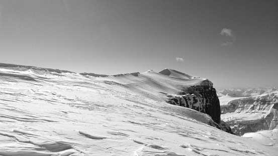 Ahead would be the summit ridge