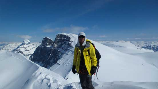Me on the summit of South Twin