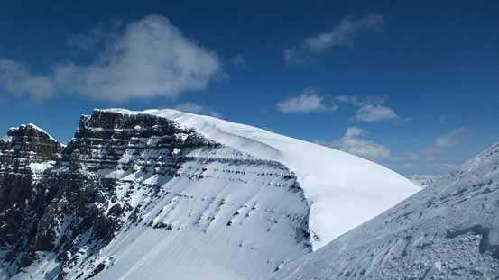 The S. Ridge of North Twin looks like a pure slog...