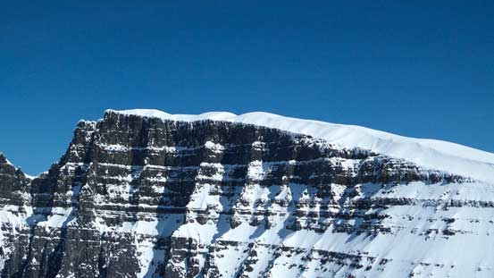 The long south ridge of North Twin, our next objective