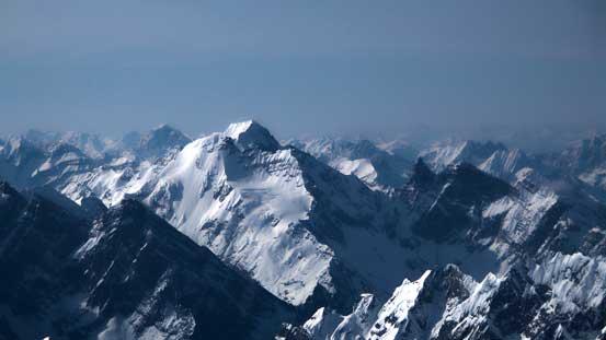 Bush Mountain (Rostrum, Bush and Icefall Peaks)