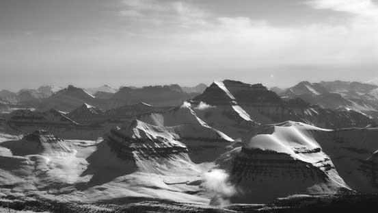 Mt. Saskatchewan - a near 11,000er
