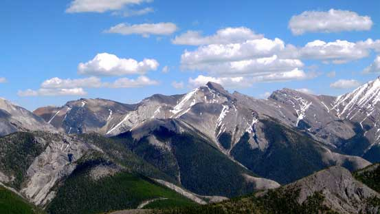 Tiara Peak at center