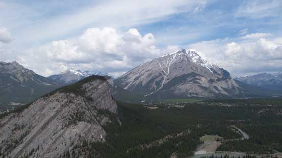 Cascade Mountain in view