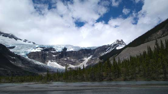 The South-East Lyell Glacier. We were at the end of this valley now