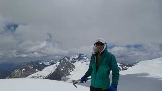 Me on the summit of Mons Peak