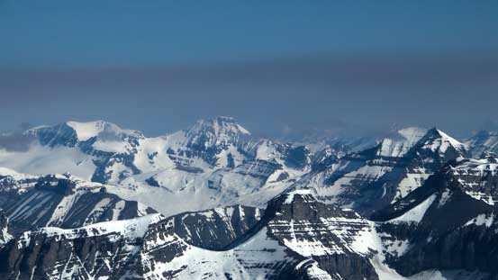 We had great memories from Andromeda and Athabasca. On the far right is Mt. Saskatchewan