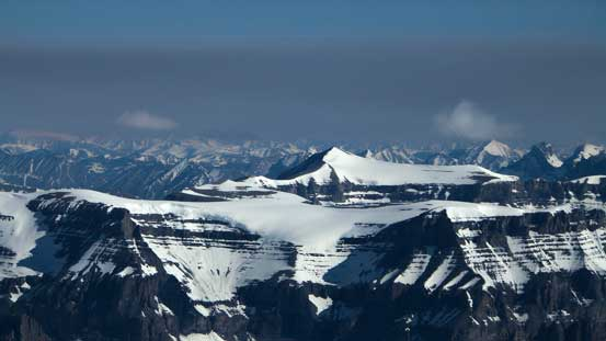 Mt. Amery is another one we'd wish to climb. The summit looks fairly flat...