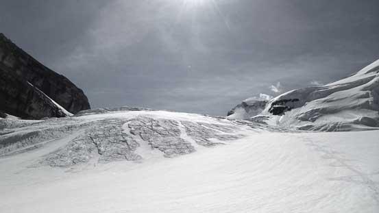 Looking back on North Glacier